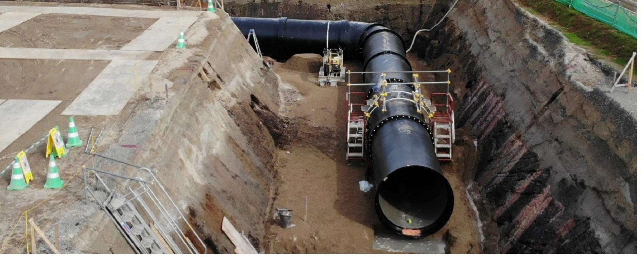 舞鶴設備工業株式会社 地中用水路